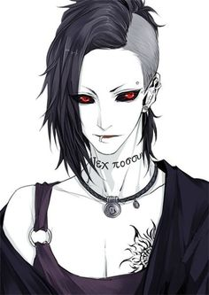 Tokyo ghoul - uta I REALLY LOVE THIS GUY!!                                                                                                                                                      Plus