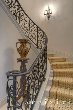 Staircase detail. Not the runner.