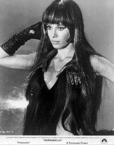 Anita Pallenberg in Barbarella = perfection.