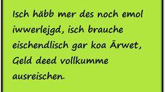 Die Facebook-Seite 'Hessisch - Sprache der Götter' ist so witzig!