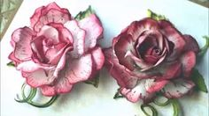 How to Create Vellum Roses - Classic Rose Collection - YouTube