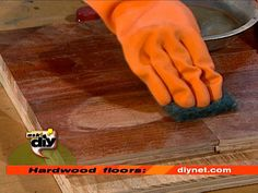 How to Liquid-Refinish Hardwood Floors  Refurbishing a floor with liquid refinishers is a great way to revive a floor and give it new luster without the hassle and cost of completely refinishing the floor by sanding Refinishing Hardwood Floors, Diy Flooring, Flooring Ideas, How To Restain Wood, Stripping Furniture, Home Upgrades, Home Decor Furniture, Diy Home Decor, Home Repairs