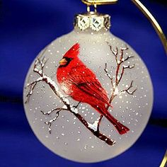 ornament painting   christmas ornament can also be paint on a round rock