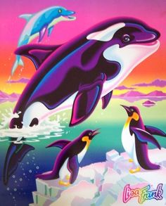Lisa Frank--every year for school back in the day. Folders, pencils, etc.