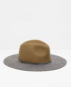 TWO-TONE WOOL HAT-Headwear-Accessories-WOMAN | ZARA United States