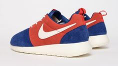Nike Roshe Run Leather - Blue