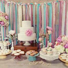 French pink wedding reception decor by Torzhestvomania, décor