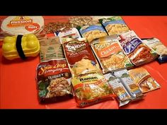 ▶ Freeze-dried Foods Cook Off! Mountain House vs Wise Food vs Backpacker's Pantry - YouTube