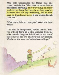 "From ""The Little Prince"" by Antoine de Saint-Exupéry"