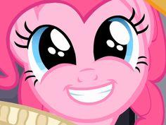 Pinkie Pie soooooooo happy