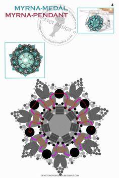 MYRNA Pendant - FREE Tutorial by Ewa Design. Page 5 of 5