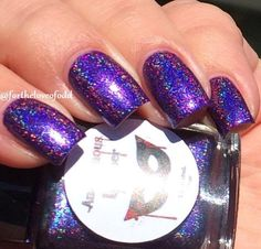 """Anonymous Lacquer - """"The Helpin' Business"""" - Hella Holo Customs exclusive - released December 2016"""