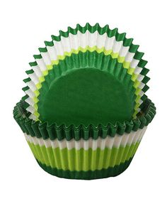 Green Swirl Cupcake Liner - Set of 60 by Regency Wraps on zulily