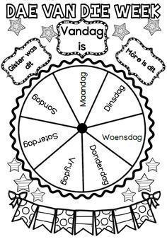 Free Days Of The Week Printables, Days Of The Week Activities, Preschool Learning Activities, Preschool Curriculum, Free Preschool, Preschool Themes, Book Activities, Preschool Activities, Kids Learning