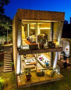 6 lofts da Casa Cor Bolívia mostram como é morar sem paredes, mas com estilo