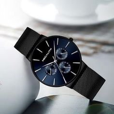 Quartz Ultra Thin Men's Quartz Simple Cheap Watches Outfit Accessories From Touchy Style. Best Watches For Men, Cheap Watches, Casual Watches, Best Affordable Watches, Fashion Watches, Quartz, Mens Fashion, Men Watch, Tecnologia