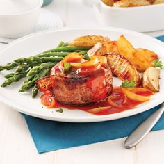 Roulades de steak au bacon et gouda - 5 ingredients 15 minutes Mini Pains, Hawaiian Desserts, Potato Wedges, Ground Meat, Bacon Wrapped, Air Fryer Recipes, Meatloaf, Tandoori Chicken, Hamburger