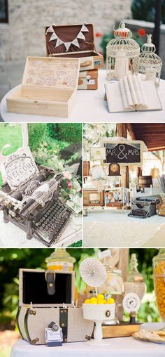 35 Creatively Beautiful Guestbook and Sign-in Table Décor Ideas!
