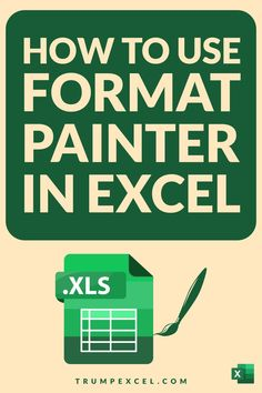Excel Format Painter allows you to quickly copy formatting from any cell or range of cells and paste in any other location. It's an amazing tool that can save you a lot of time. It also allows you to quickly copy conditional formatting and paste it in a different range of cells. In this article, I cover how you can activate and use format painter in Excel Computer Basics, Computer Tips, Computer Keyboard, Excel For Beginners, Excel Hacks, Pivot Table, Software Apps, Work Tools, Microsoft Excel