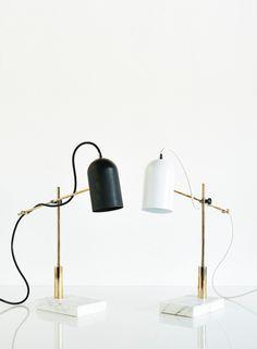 Deadstock table lamp, Castor Design