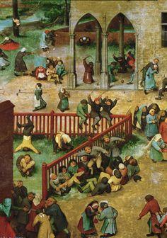 Tablouri pieter brueghel the elder - kids games (4) (1560) | Tablouri celebre | tablouri canvas online