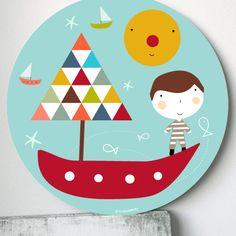 Kids Room Art, Art For Kids, Plate Art, Ideas Para, Illustration, Collage, Plates, Drawings, Tableware