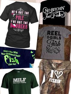 1000 images about fishing shirt ideas on pinterest for Womens fishing shirts