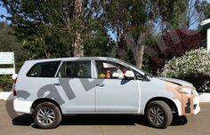 Is Toyota testing the hybrid version of the Innova ? - Spyshots !