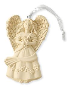 There are few decorations that say more about remembering that Christmas is a religious holiday than an angel figurine.