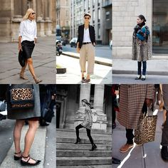 There is no greater fashion inspiration than The Sartorialist, and it looks like slashes of leopard print are going to be making their way back.
