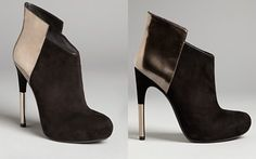 Sigerson Morrison Platform Booties - Baladi High Heel