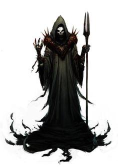 Dark Mage by caiomm