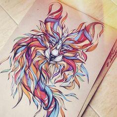 Illustrations by Lera Razvodova, via Behance