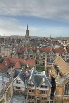 Oxford Panorama not it's most flattering view England Ireland, England And Scotland, England Uk, London England, Cornwall England, Yorkshire England, Yorkshire Dales, Oxford England, Oh The Places You'll Go
