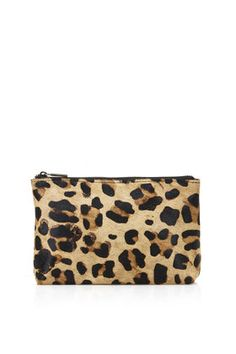 GIFTS FOR THE GIRLY GIRL Topshop ponyhair makeup bag $28