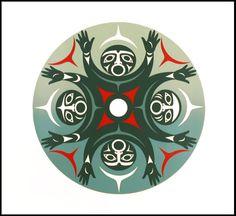 British Columbia Welcomes the World (Artist Proof)  Susan Point  Coast Salish Nation