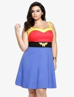 423ca95950cf4 Wonder Woman dress by Torrid Dc Comic Costumes