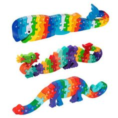 Child's Educational Wooden Puzzle More