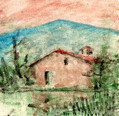PAOLO SALVATI - Casa di campagna Romana - 1980.