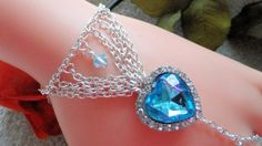 Heart of the Ocean Infinity Ring Bracelet Titanic by JWBoutique1