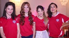 Lodo,Cande,Tini,Alba  #ViolettaLIVE