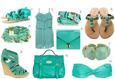 Cute for Spring and Summer:)  Love this colour!