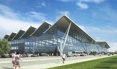 Новый пассажирский терминал Т2 - Гданьский аэропорт имени Леха Валенсы