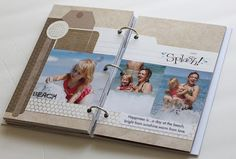 Amazing travel journal...must make for our family trip.
