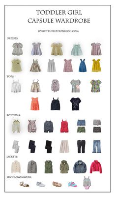 In fact, one of my most frequently asked questions (besides where to buy ethical leggings) is how I manage a toddler girl capsule wardrobe. Toddler Girl Style, Toddler Girl Outfits, Toddler Fashion, Kids Outfits, Kids Fashion, Toddler Girls, Fashion Tips, Girls Wardrobe, Little Girl Fashion