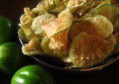 Chips de Jiló                                                                                                                                                                                 Mais
