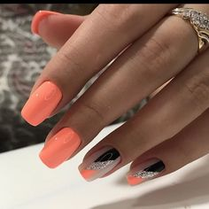 Classy Acrylic Nails, Simple Acrylic Nails, French Acrylic Nails, Almond Acrylic Nails, Summer Acrylic Nails, Acrylic Nail Designs, Summer Nails, Long Square Acrylic Nails, Work Nails