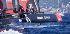 Fast and Foiling: Emirates Team New Zealand Chases the America's Cup E Magazine, New Zealand, Sailing, America's Cup, Boating