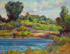 ''Spring Pond'' 14x18