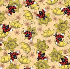 Ladybugs. Updated by Janelle-Dimmett.deviantart.com on @deviantART